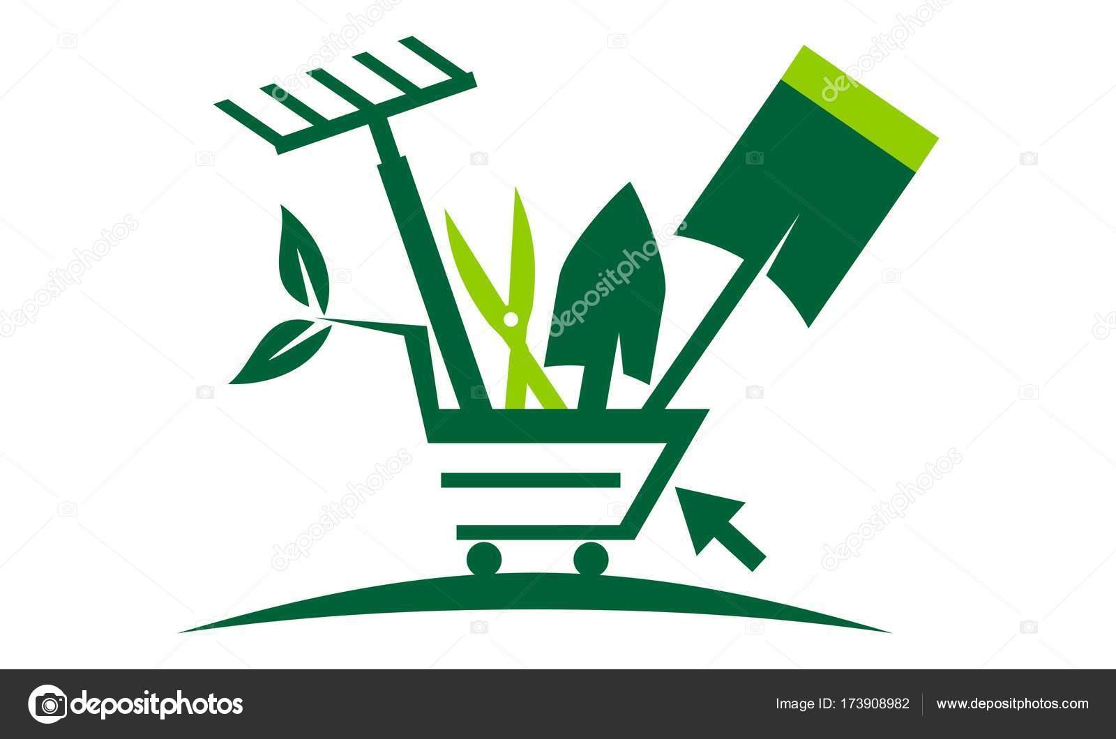Tienda online de jardiner a archivo im genes vectoriales for Jardineria online