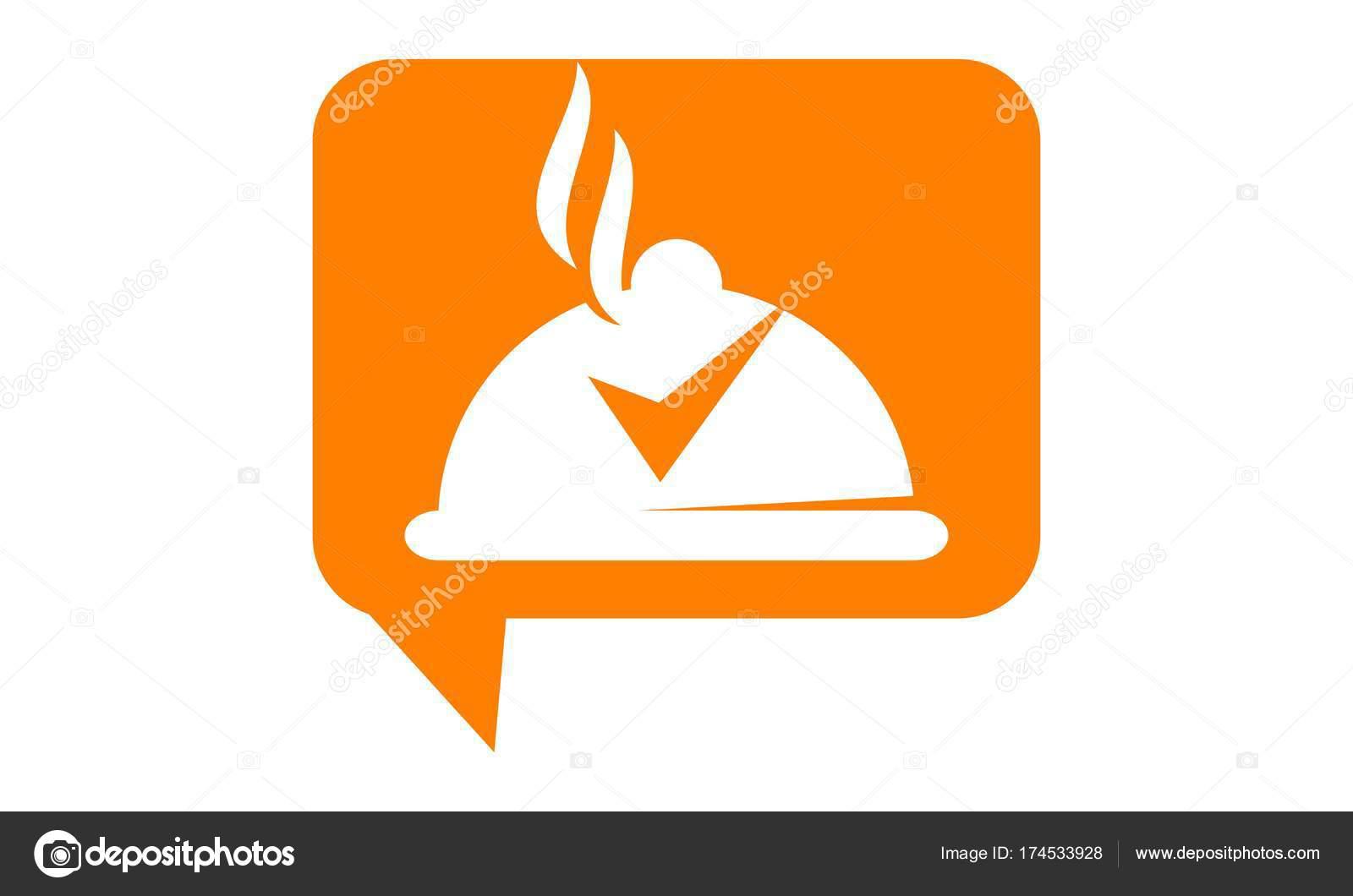 Revisión de diseño de logotipo restaurante plantilla Vector ...