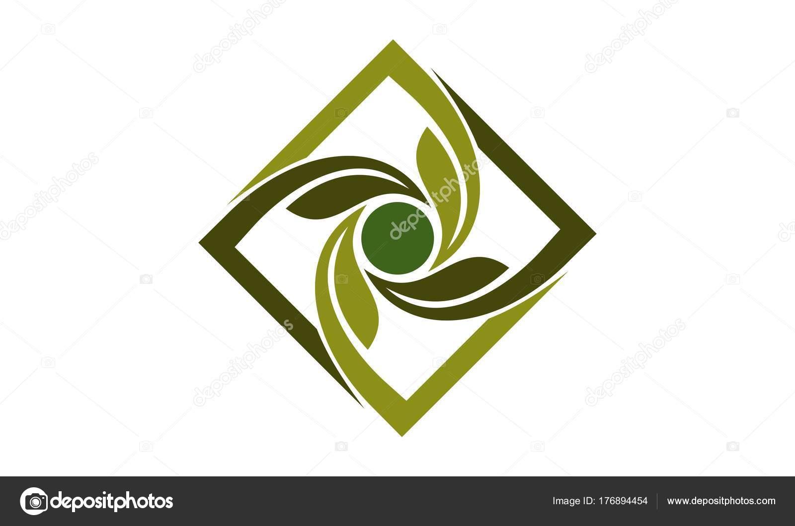 Diseño paisajismo verde — Vector de stock © alluranet #176894454