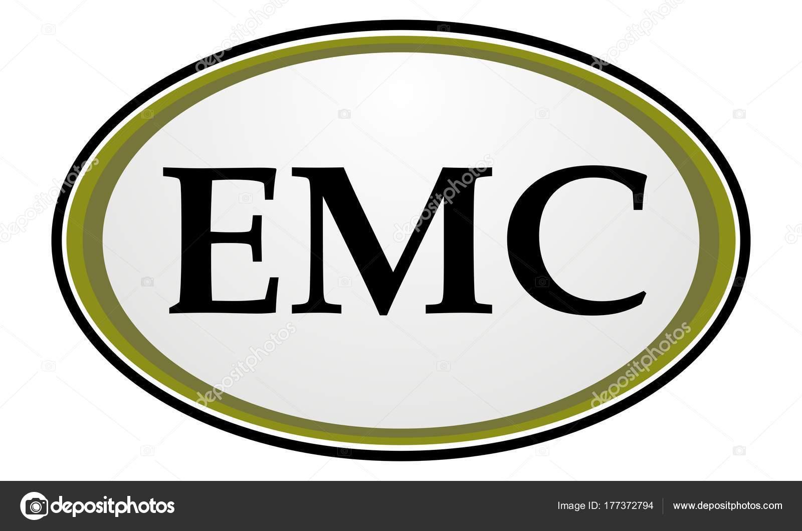 Letter Emc Real Estate Emblem Template Stock Vector Alluranet