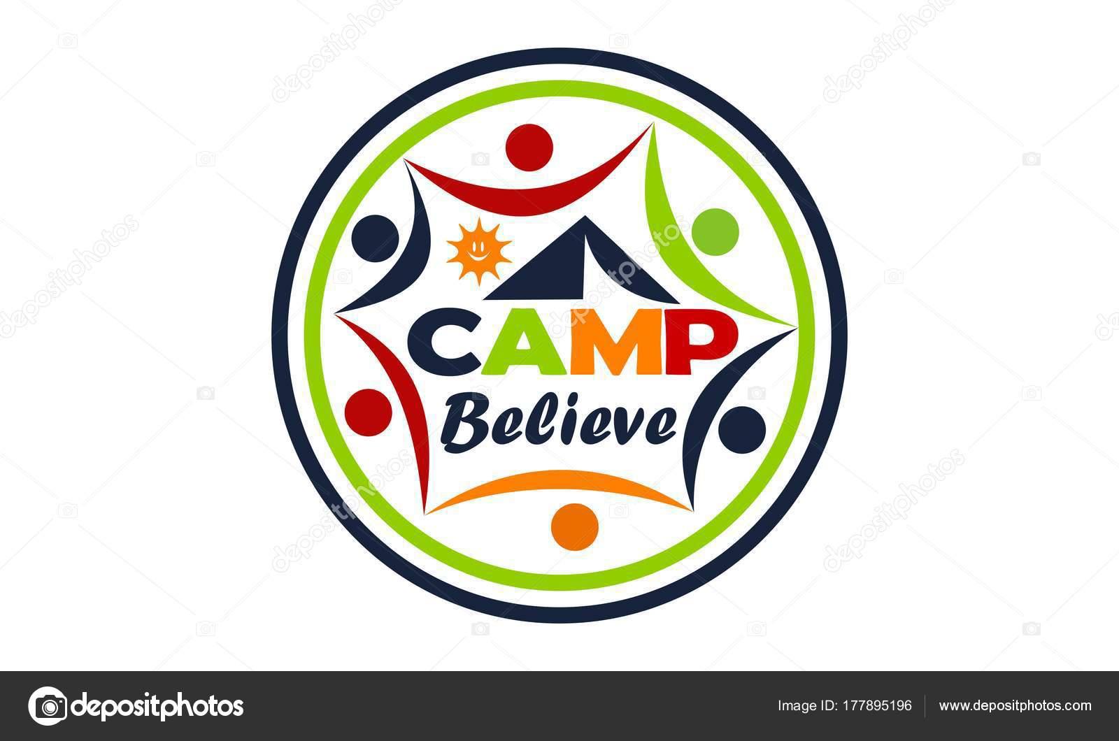 Creo que campo Vector de plantilla de diseño de Logo — Vector de ...