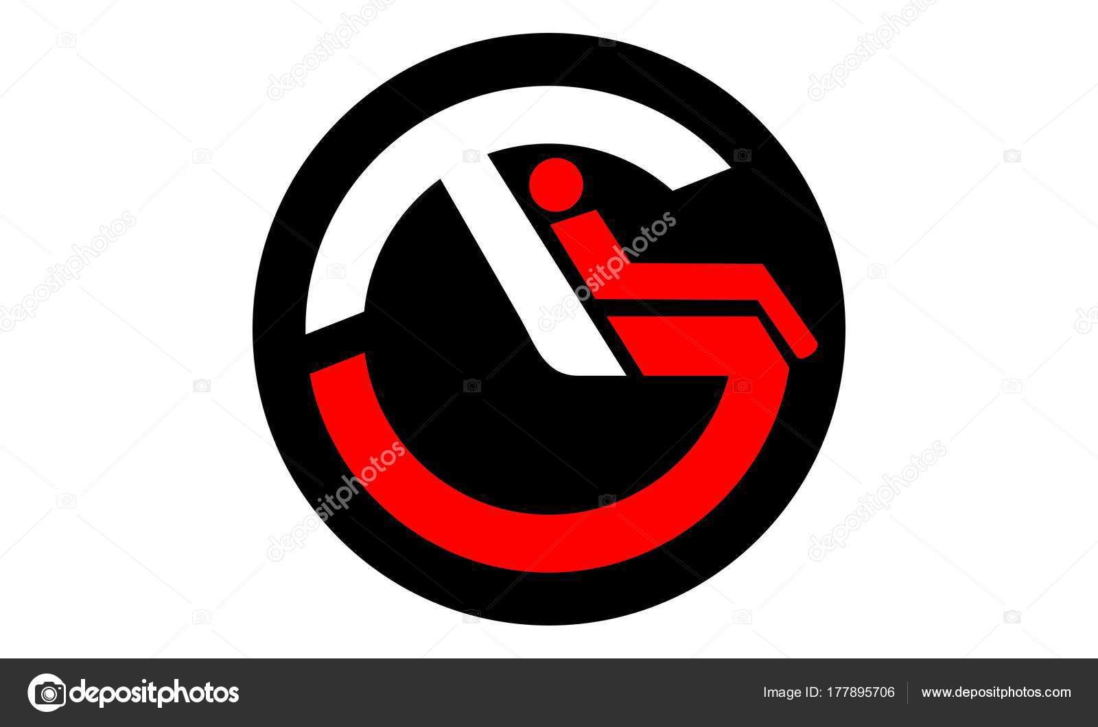 Letter T G Logo Design Template Vector Stock Vector
