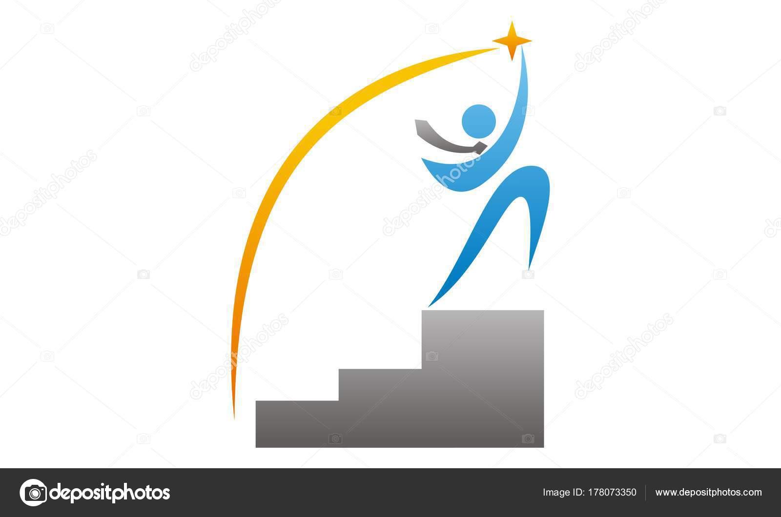 Career Coaching Logo Design Template Vector Stock Vector C Alluranet 178073350