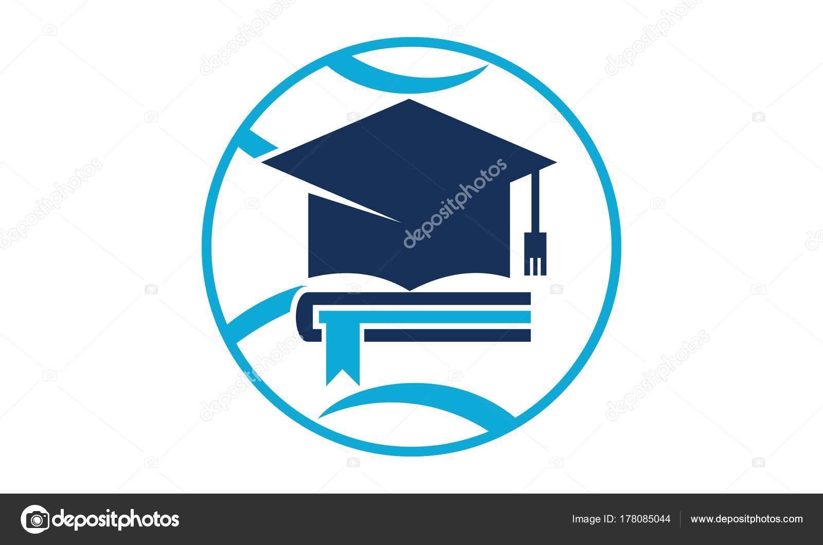 Welt Bildung Logo Design Vorlage Vector — Stockvektor © alluranet ...