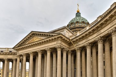 Kazan Cathedral is one of the largest temples of St. Petersburg.