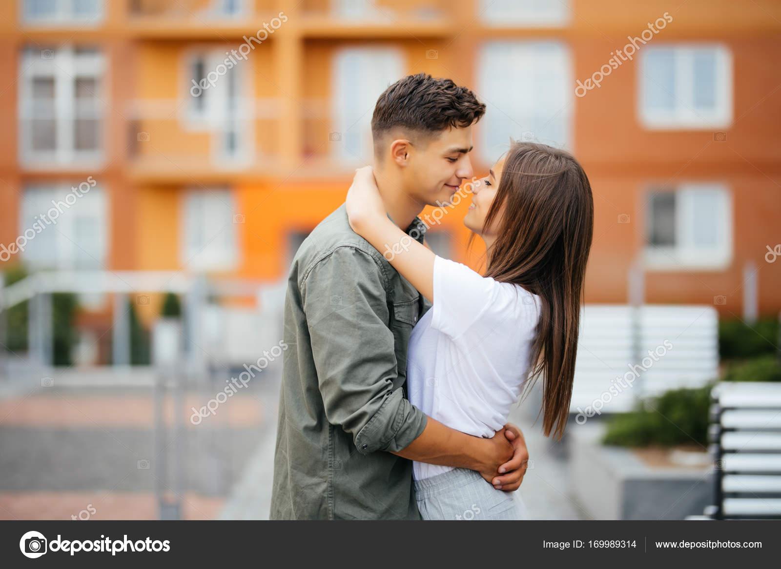 Dejting kyssar