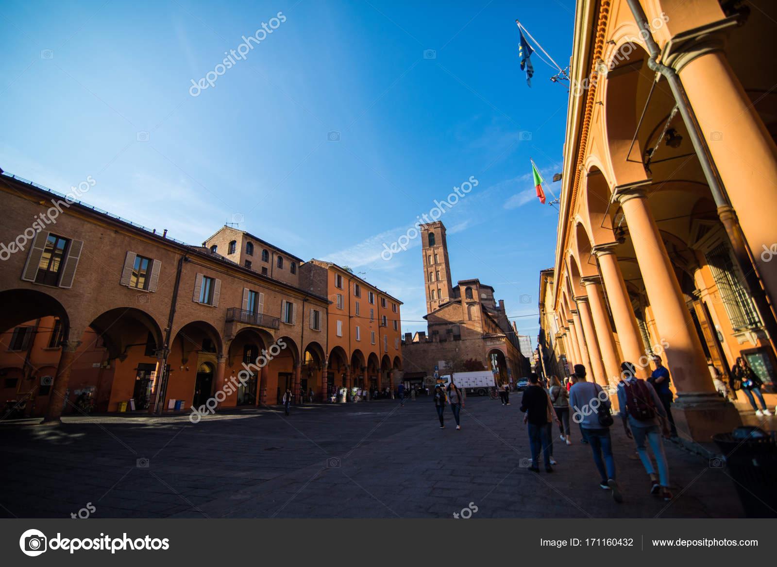 Bologna Italia Ottobre 2017 Le Strade Di Bologna Capitale E
