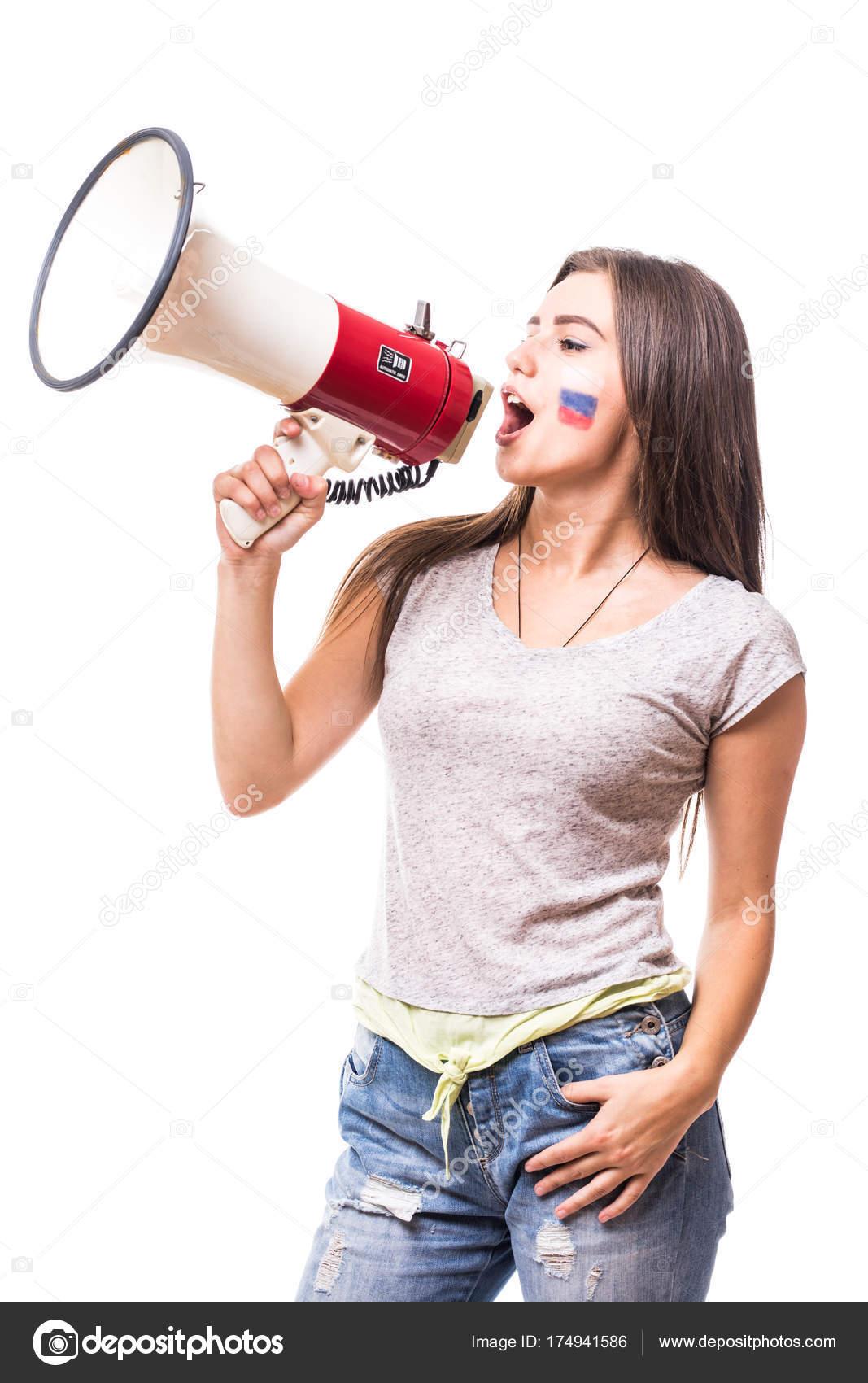 Русская женщина кричит — pic 8
