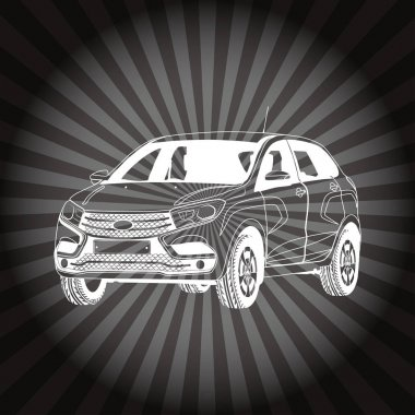 New Russian car LadaXray