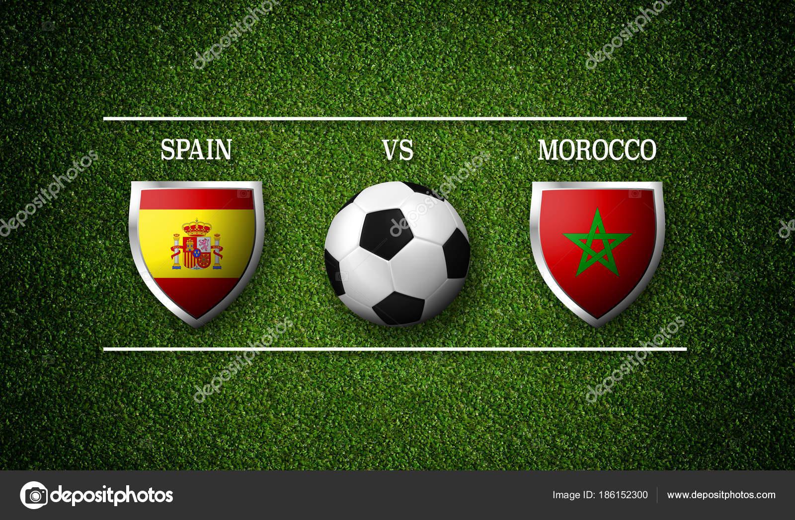 Calendario Calcio Spagnolo.Calendario Delle Partite Di Calcio Spagna Vs Marocco Foto