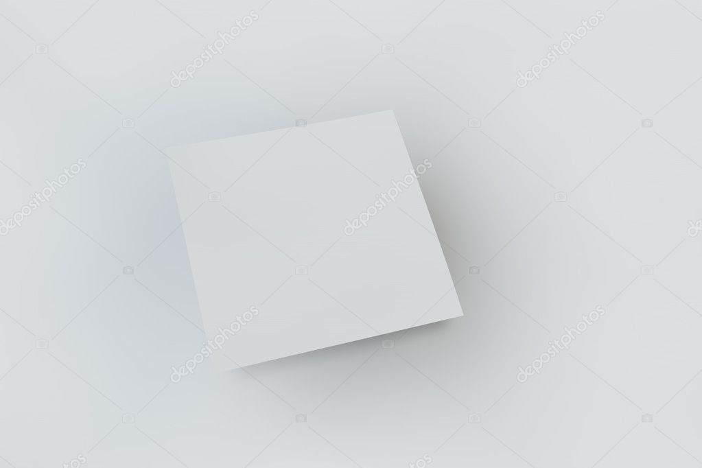 Mock Up Abdeckung Einer Quadratischen Form Auf Einem