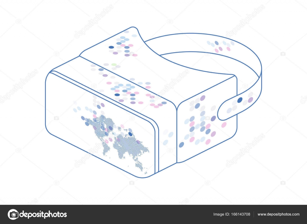 Isometric glasses of virtual reality for a smartphone with world map isometric glasses of virtual reality for a smartphone with world map on a white background gumiabroncs Choice Image