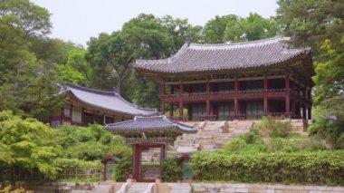Juhamnu Pavilion(Secret Garden) Changdeokgung Palace. Soul, Jižní Korea