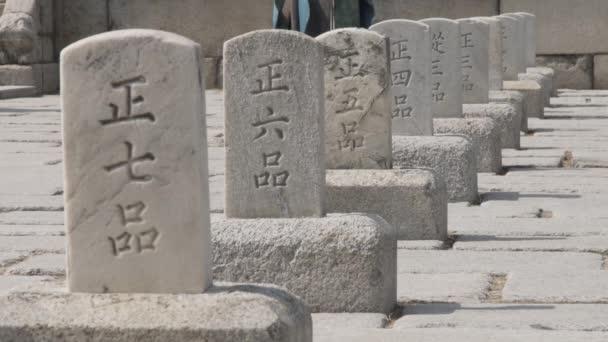 Pumkyeseok, kő, hivatalos rangot, Gyeongbokgung foka