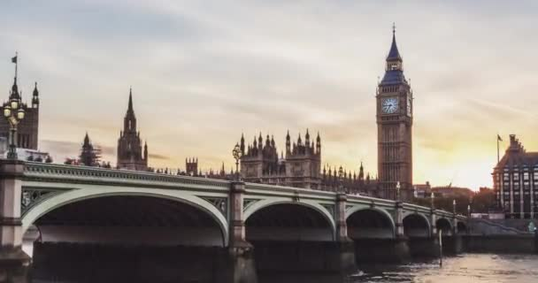 Day to night of London city
