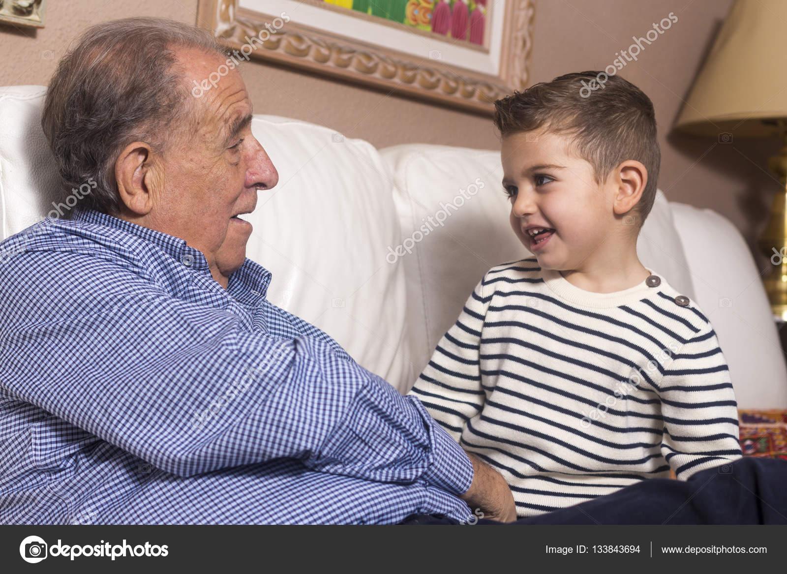 Гей дед и мальчик