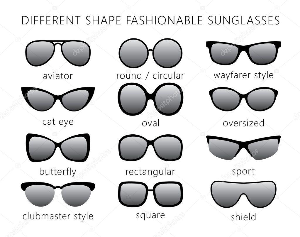 Al tipo de gafas de sol — Archivo Imágenes Vectoriales © Lazuin ... ff5d03780e