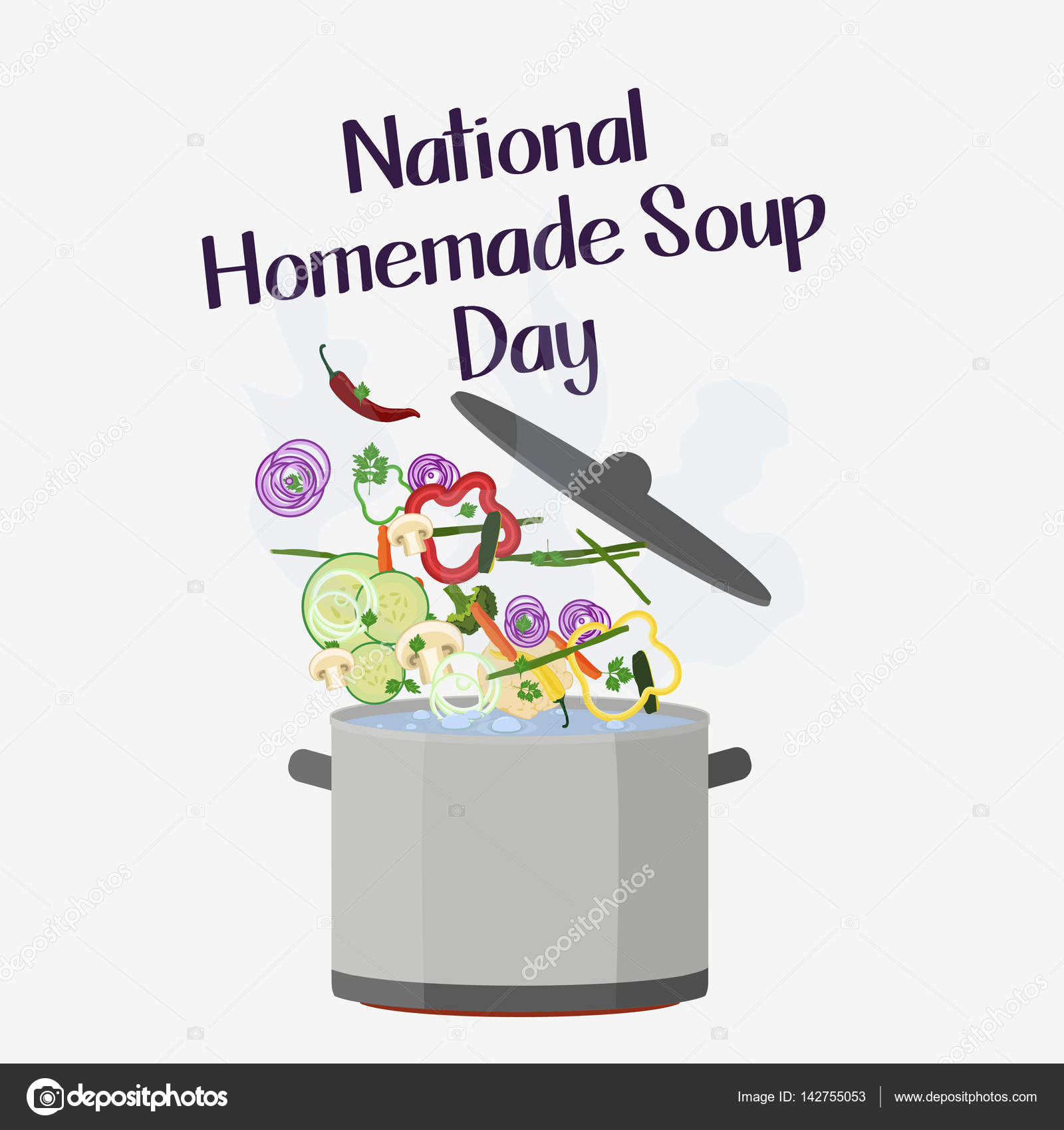 Homemade Soup Day Stock Vector C Hlivnyk A Gmail Com 142755053