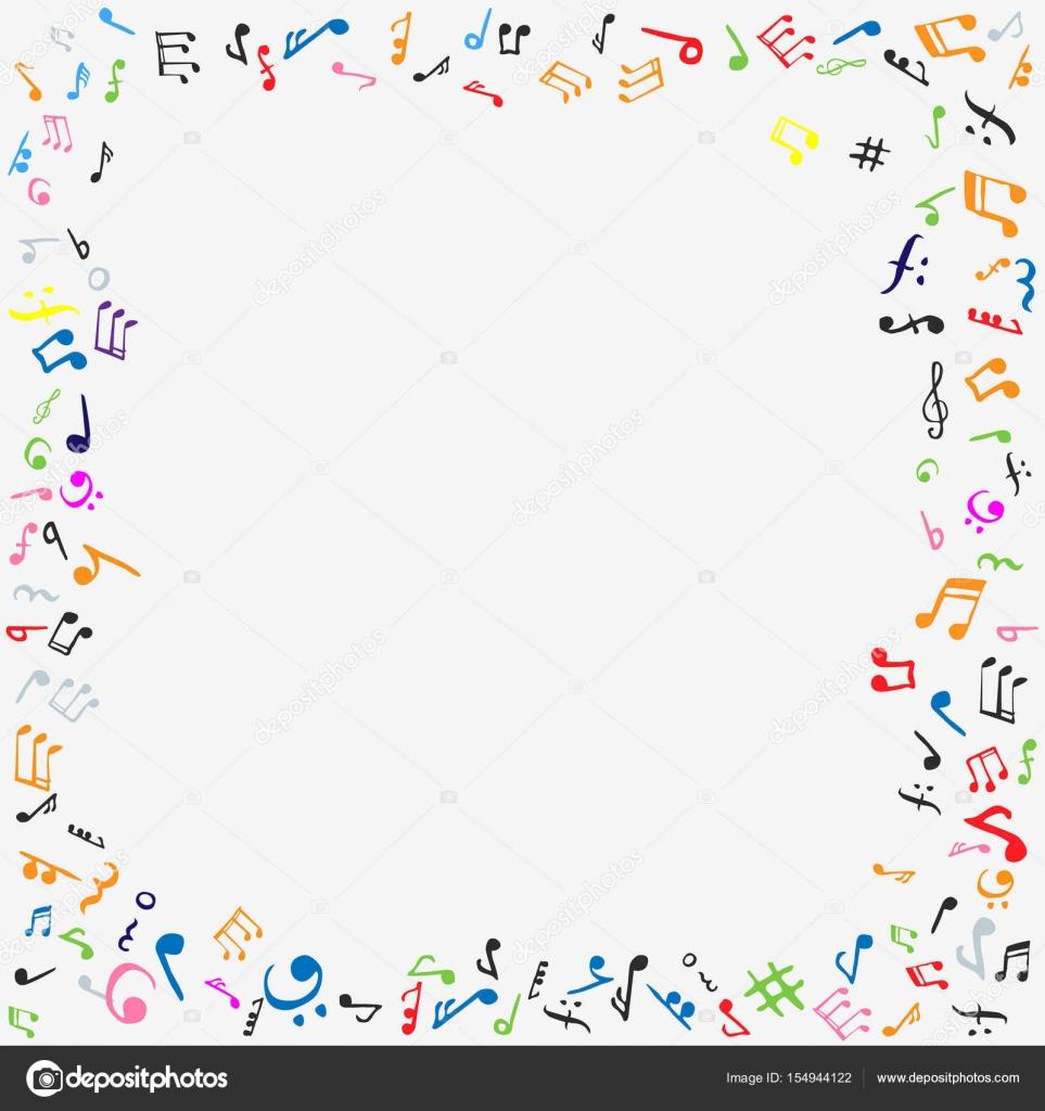 Music notes frame — Stock Vector © hlivnyk.a.gmail.com #154944122