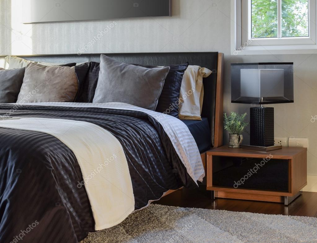 Moderne Lampe Style Décoratif Avec Chambre Chevet Intérieur De 4ARq3j5L