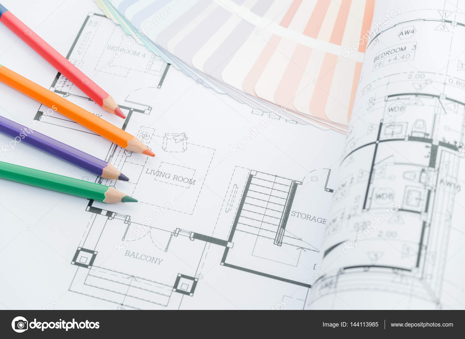 Lieu De Travail Architectes Dessins D Architecture De La