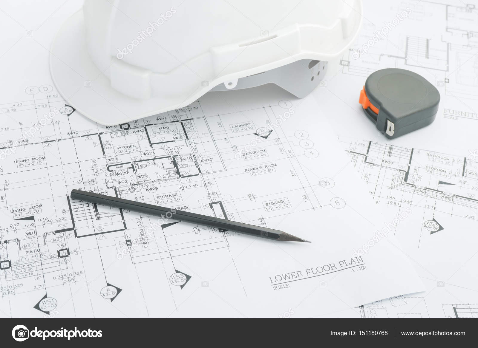 architectural engineering blueprints. Plain Architectural Architects Workplace  Architectural Tools Blueprints Helmet Measuring  Tape Construction Concept Engineering Tools Top View U2014 Photo By WorldWide_Stock In Architectural Blueprints