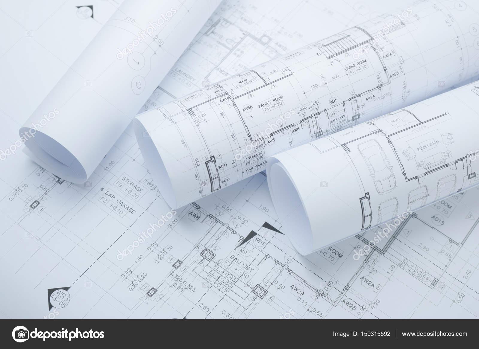 Rotoli di carta da disegno architettonico di un 39 abitazione for Immagini abitazioni