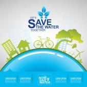 Uložit koncept vody