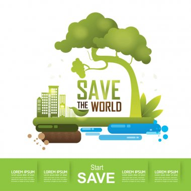 Save the World Concept