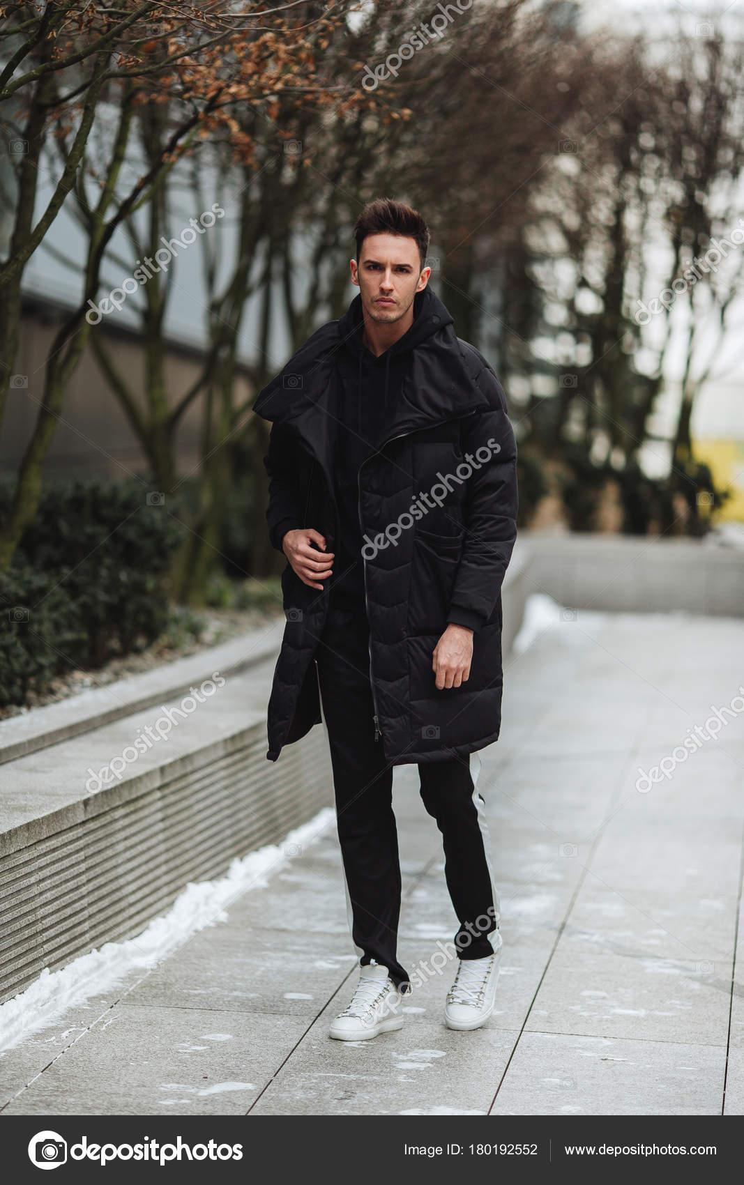 Big Dans Froid Tenue W D'hiver Veste La Wolk Homme Élégant Rue Ew44Aq