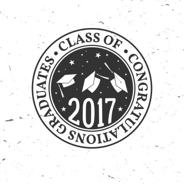 Vector Class of 2017 badge.