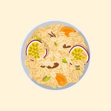 Muesli oats granola