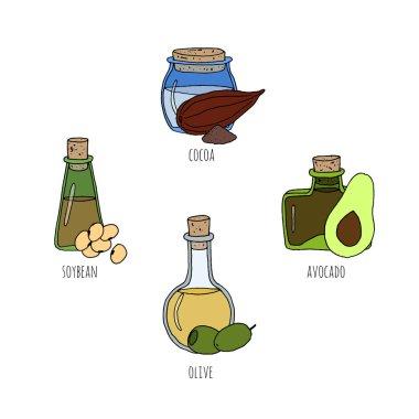 Natural sketched oils