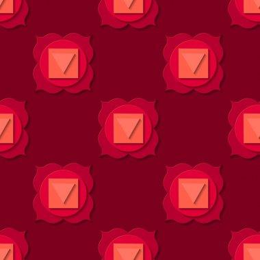 paper cut chakra pattern
