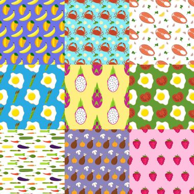 set of food patterns