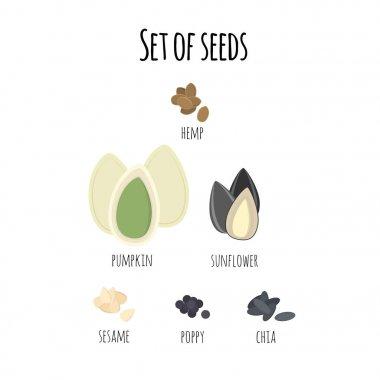Set of seeds