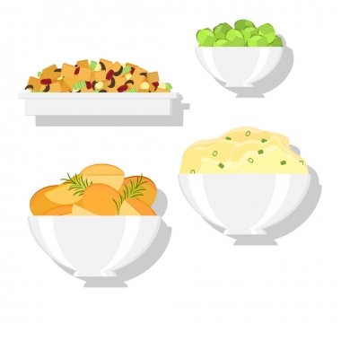 holiday dinner dishes