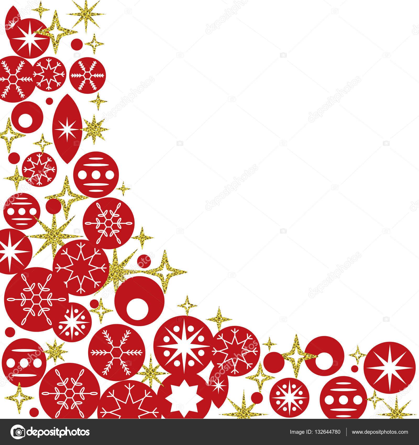 Plantilla para tarjetas de Navidad — Archivo Imágenes Vectoriales ...
