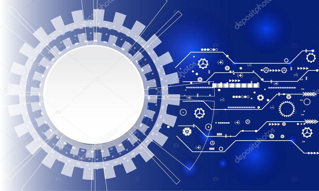 Fondos tecnologicos vector