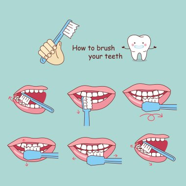 how to brush your teeth,