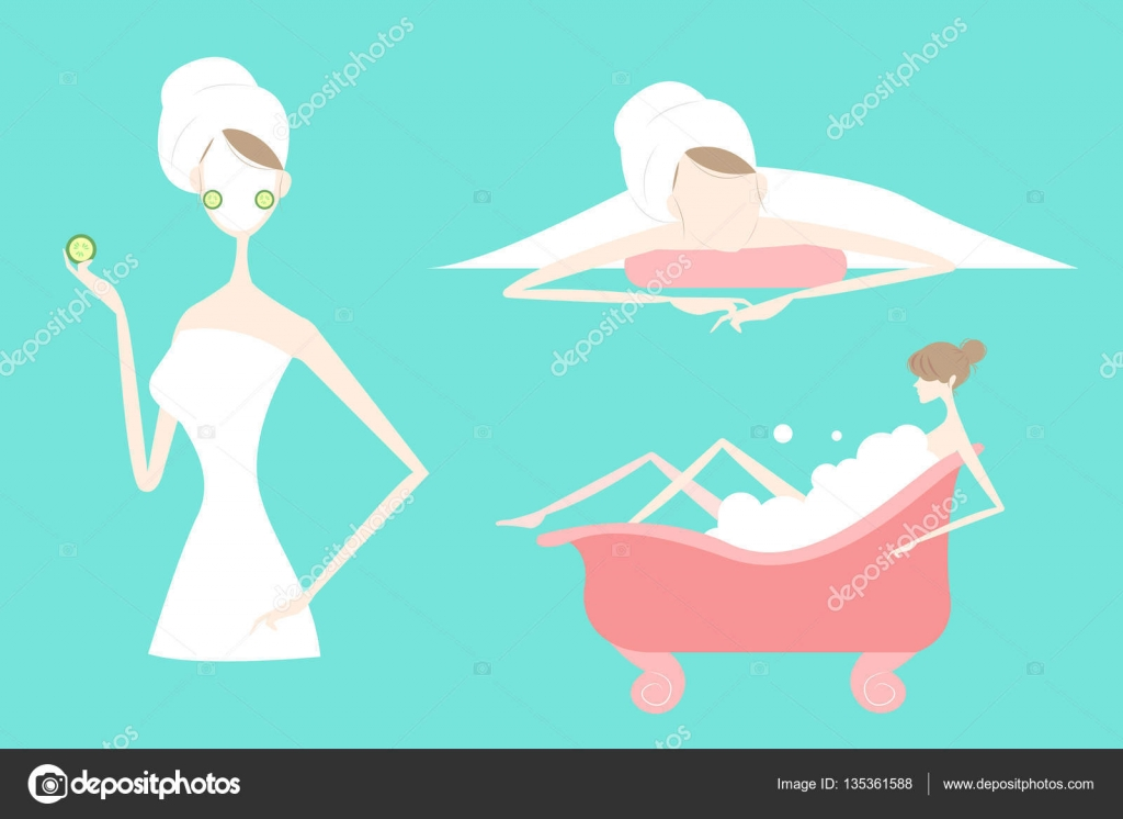 Девушка и огурец мультик
