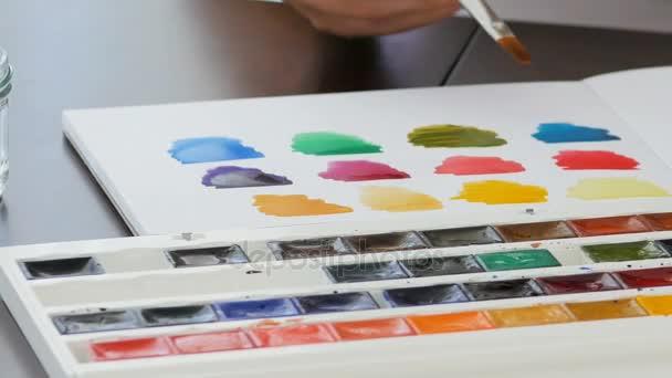 Handmalerei mit Aquarell