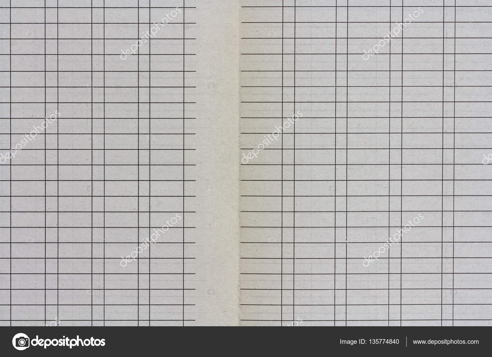 open sheets of old yellowed lined paper with lines and column