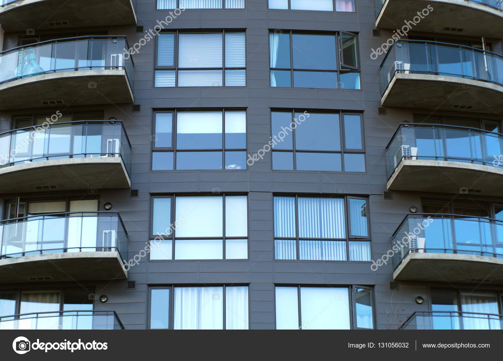 Wohngebäude Balkone Eigentumswohnung Wohnungen modernes wohnen ...