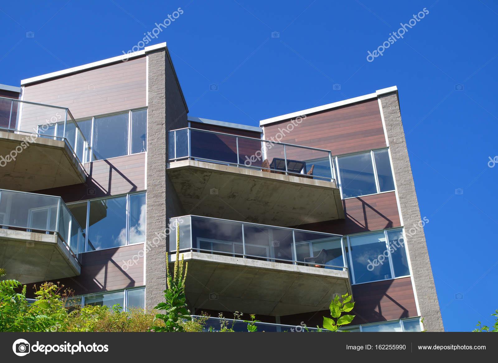 Moderne Balkone | Stadt Glas Balkone Moderne Architektur Wohn Terrasse Wohnung Bauen