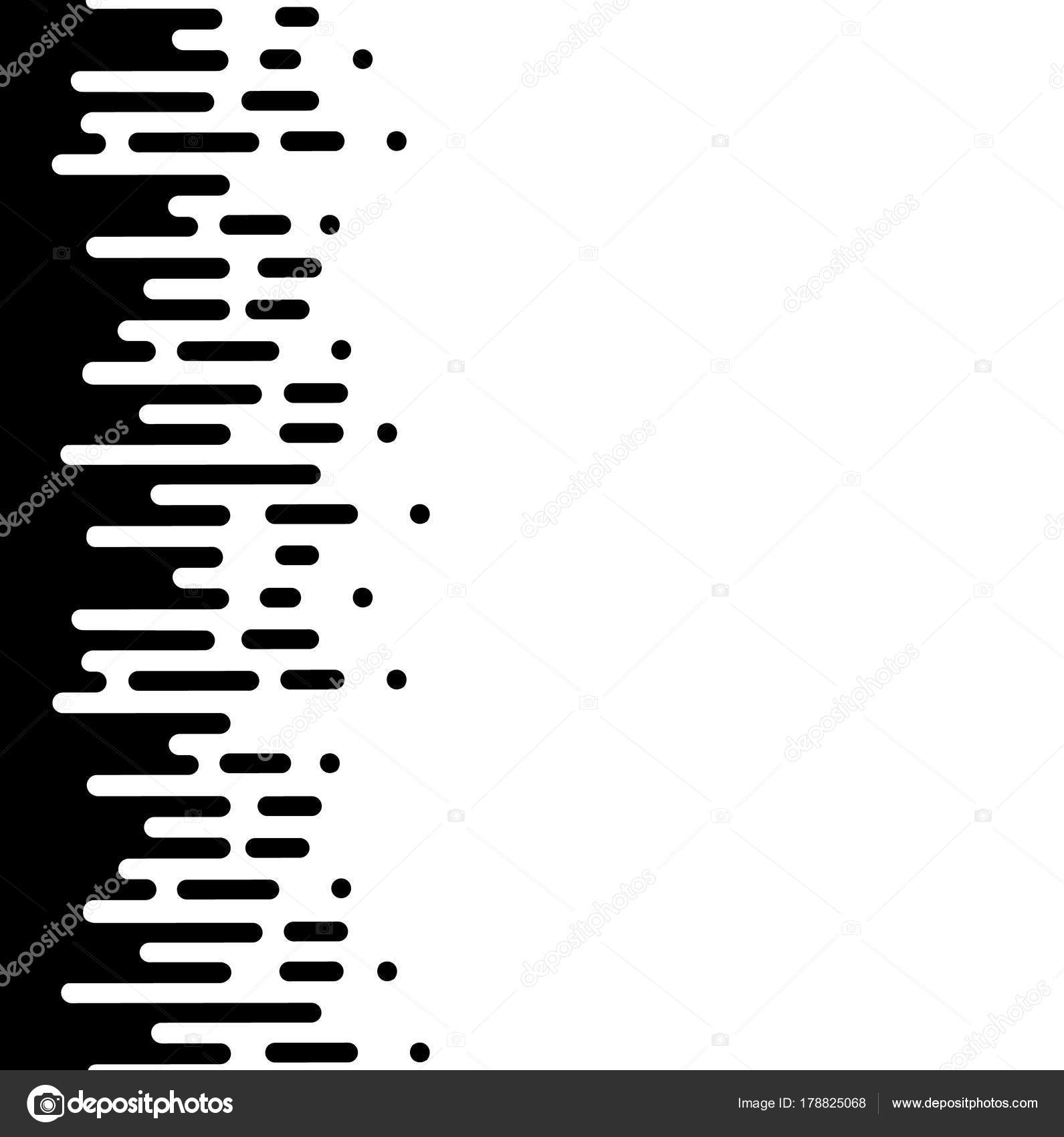 ベクトル ハーフトーンへの移行の抽象的な壁紙パターン シームレスな黒と白の不規則な丸みを帯びた線の背景モダンなフラット Web サイトのデザイン ストックベクター C Kabzon300 Gmail Com