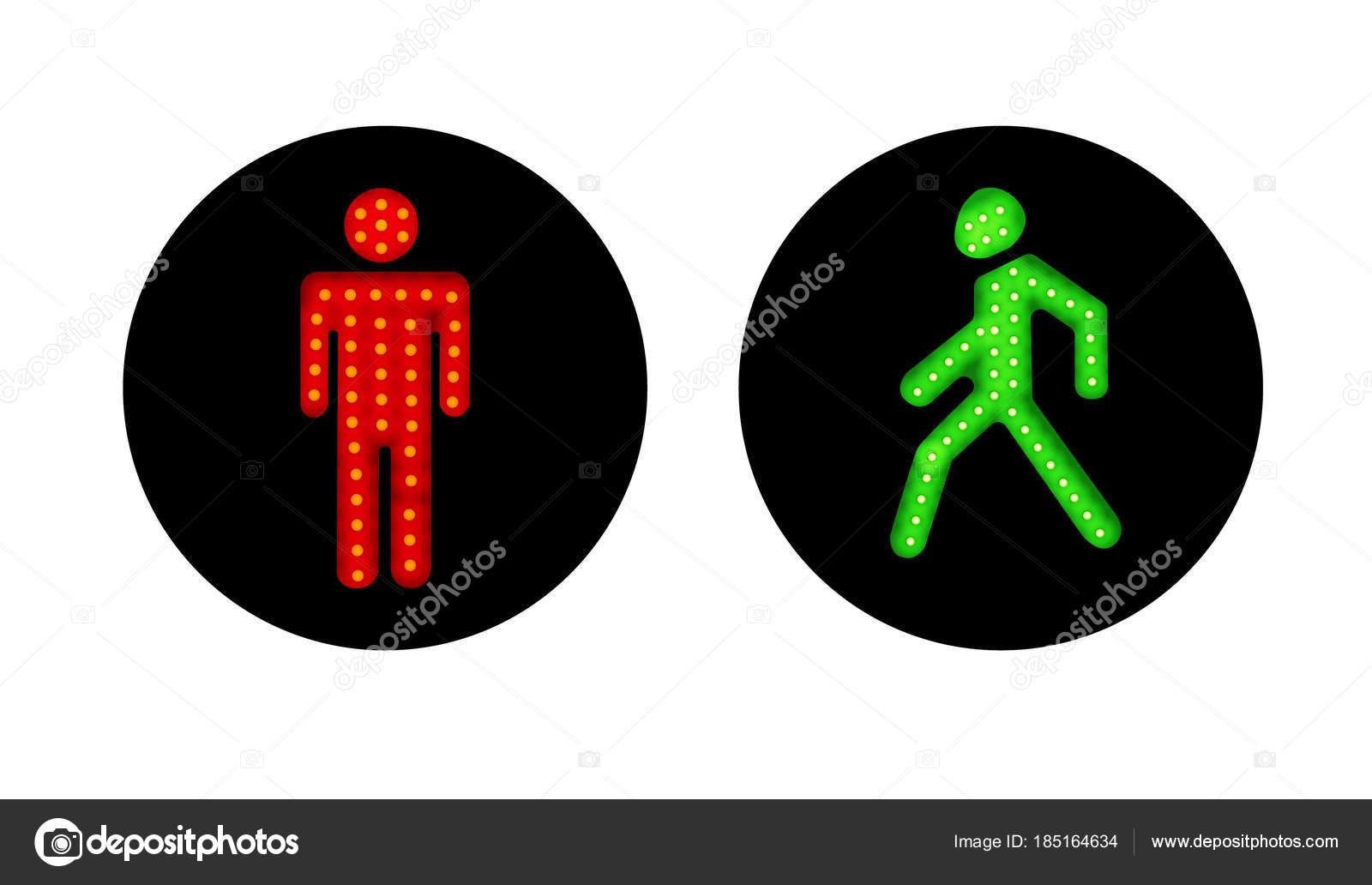 чудо картинка человечка для светофора что можно
