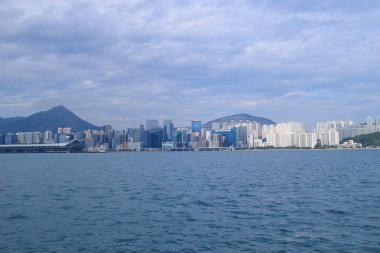 Quarry Bay view Kowloon side