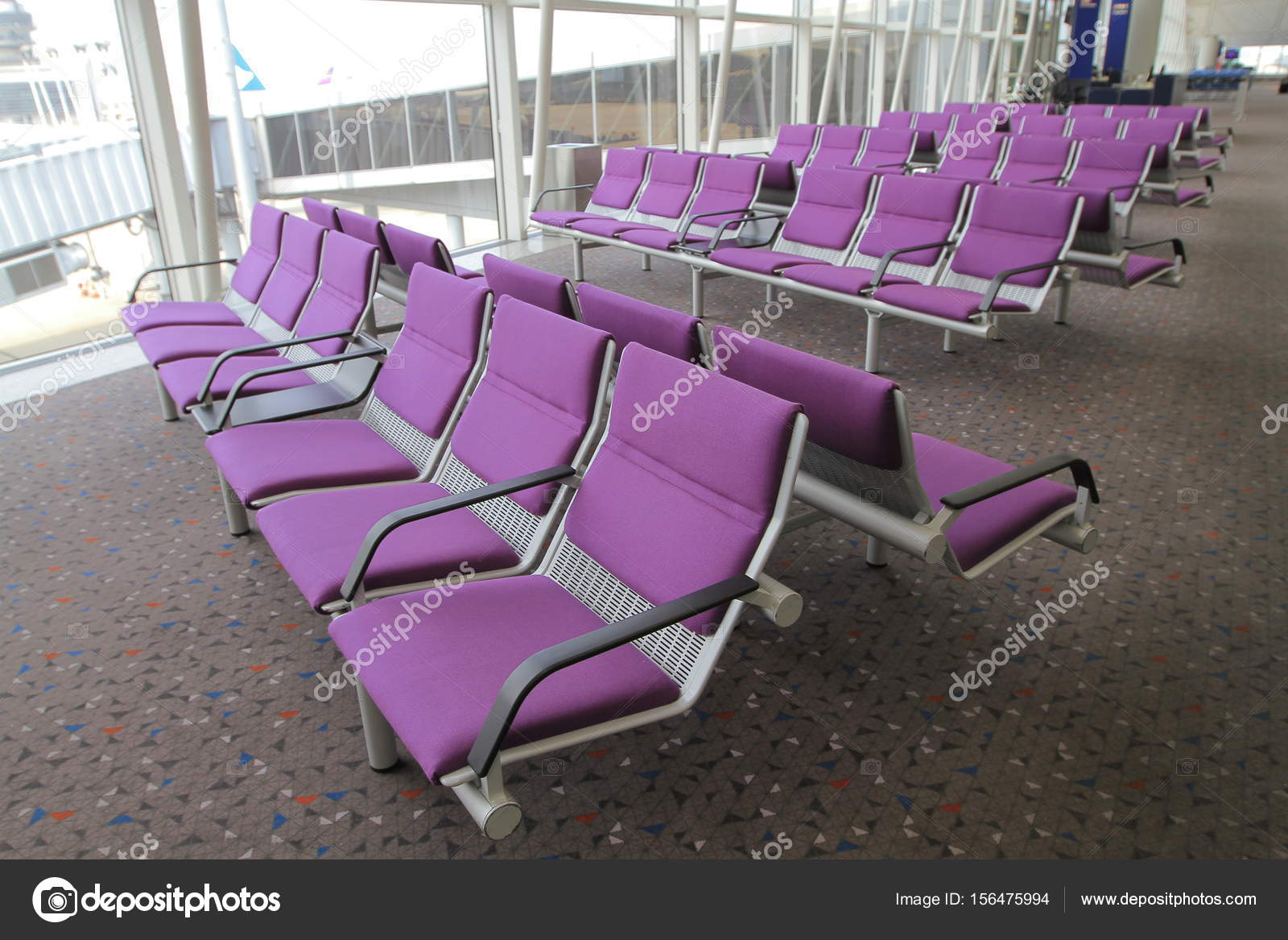 interieur van hong kong international airport stockfoto