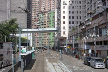 tram pass at island of west hk